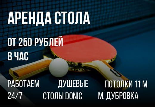 Территория мяча - клуб настольного тенниса