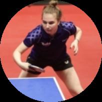 Красикова Анна - тренер по настольному теннису