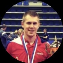 Куимов Филипп Сергеевич - тренер по настольному теннису