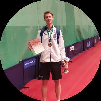 Чаплыгин Максим Михайлович - тренер по настольному теннису