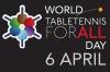 6 апреля - Всемирный День Настольного Тенниса! RTTF поздравляет форумчан!