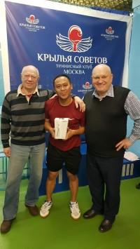 Победитель турнира гость из Таиланда. Прилетел на турнир на своём самолёте.