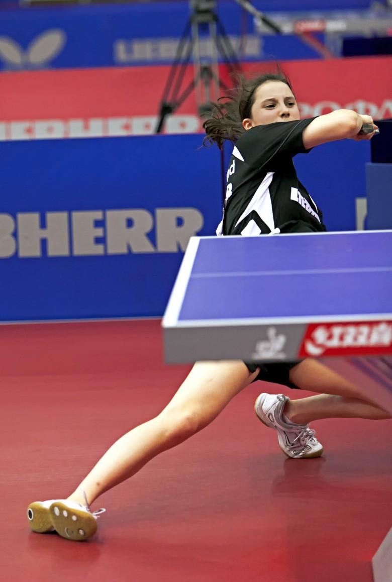 Сабина Винтер, Германия. - настольный теннис фото
