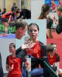 Милена и её тренер (Константин Бакшеев).