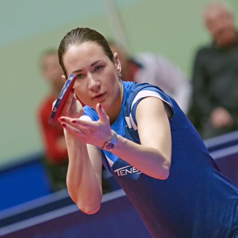 Полина Михайлова. - настольный теннис фото