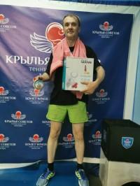 Зыбин Толя получил приз за первое место!