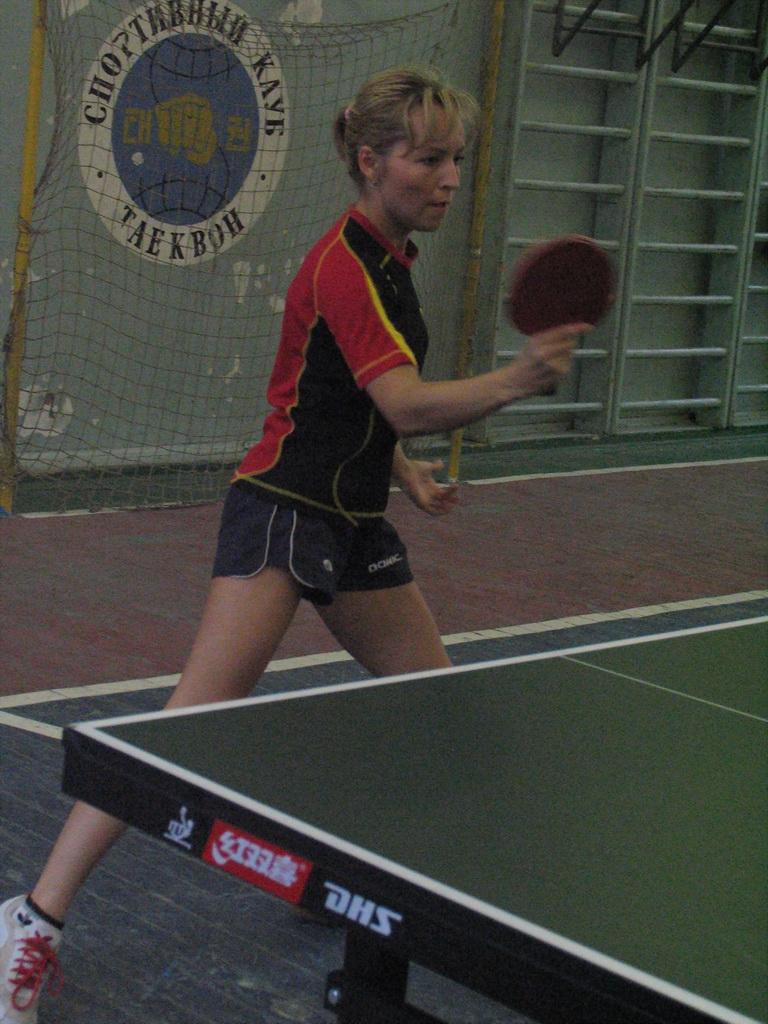 Снова Метакса - настольный теннис фото