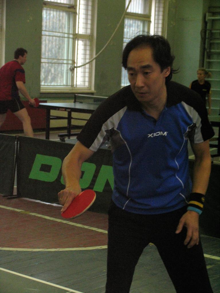 Dambaev V - настольный теннис фото
