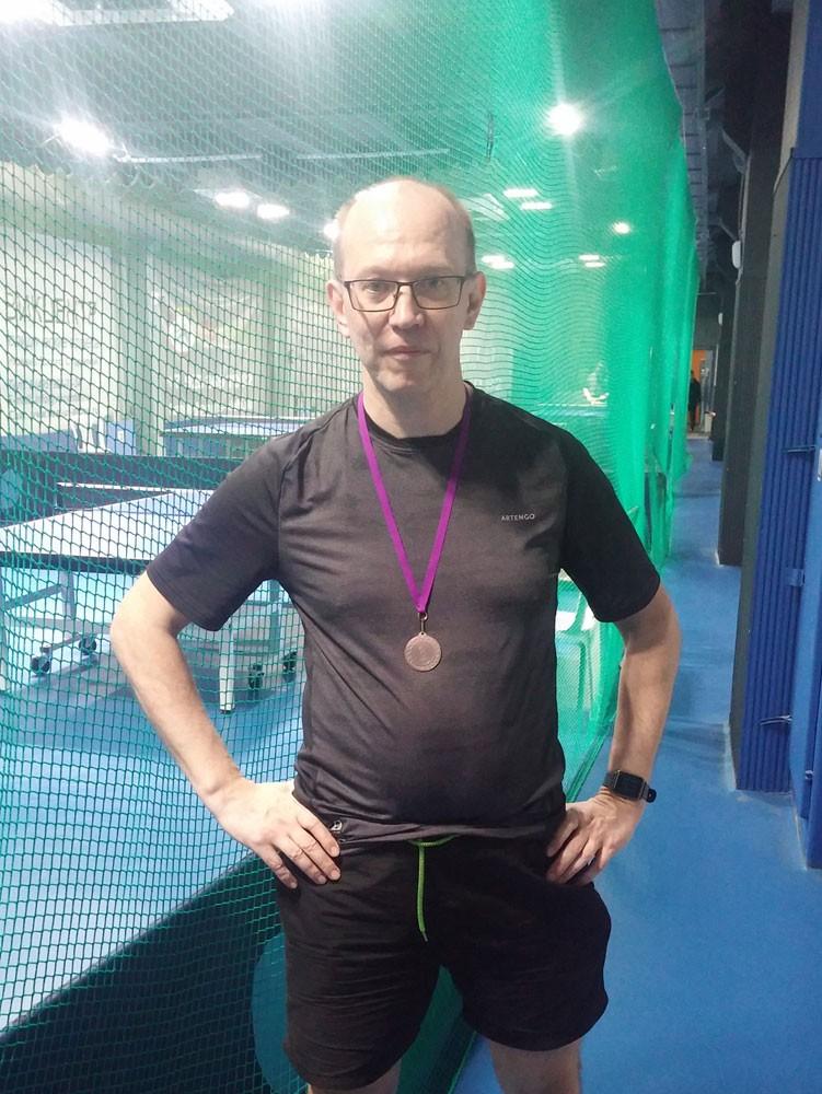 Бронзовый призёр Макс-150, ЛуЦентр - настольный теннис фото
