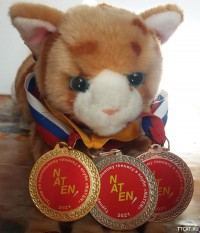Полный кавалер медалей клуба NATEN-1905