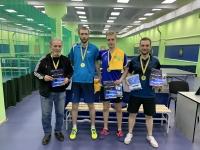 Победители Кубка RTTF - команда «Снежинка» с тренером