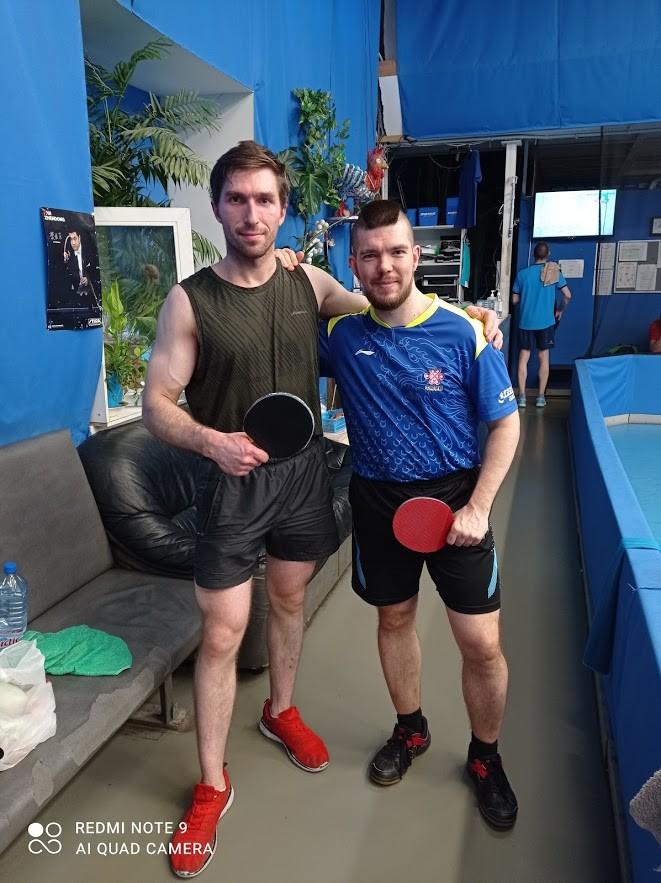 Качки - настольный теннис фото
