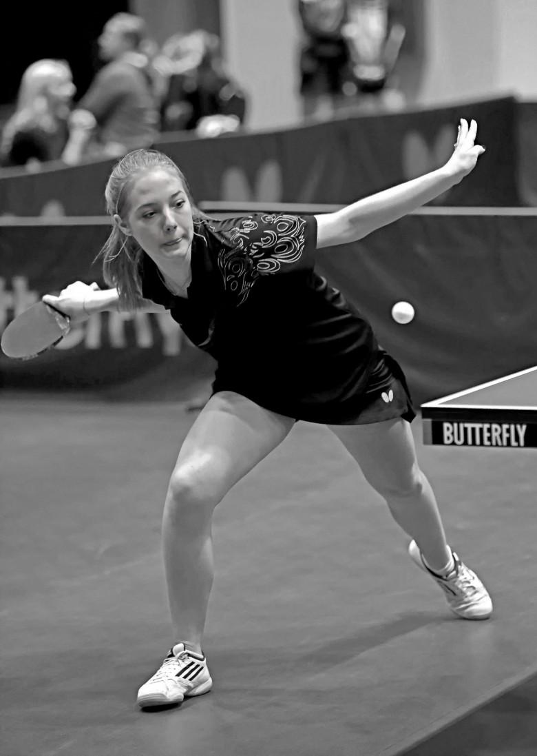 Анастасия Карпушина. - настольный теннис фото
