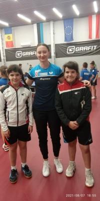 Открытие теннисной академии Софии Полкановой