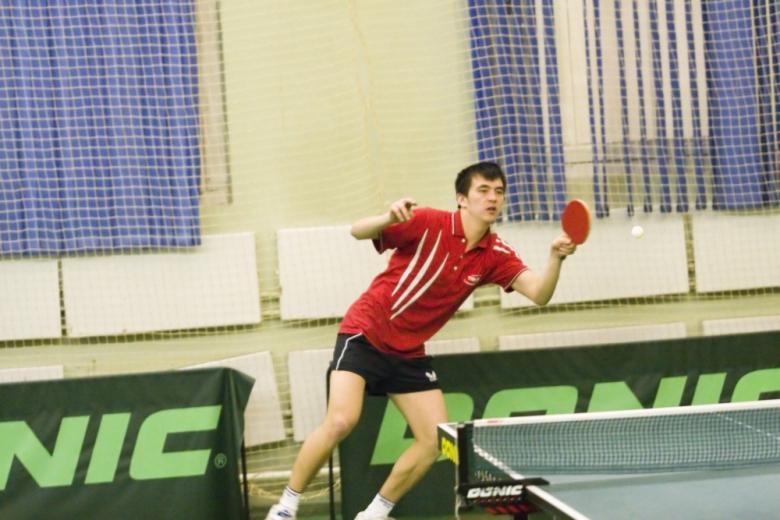 Байбулдин - настольный теннис фото
