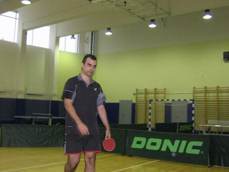 Valentin K после схватки с tanda - настольный теннис фото