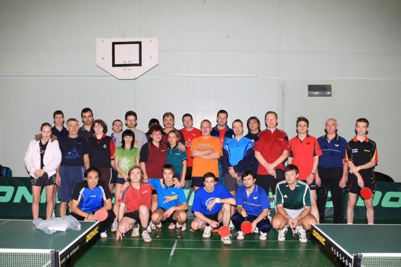 Все участники 5-го парного Кубка - настольный теннис фото