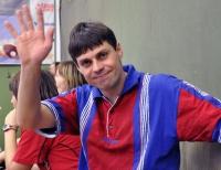 Жизнерадостный Тотоша на Кубке :)