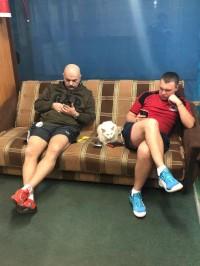 Тренера ждут своих клиентов)